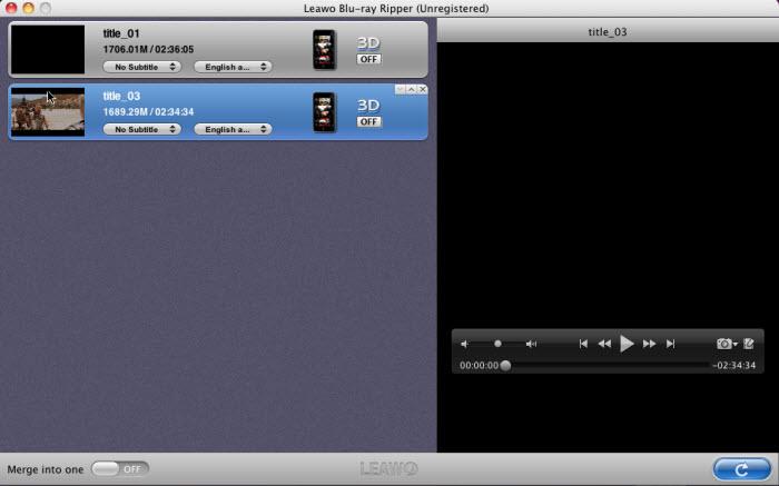 Blu-ray Ripper til Mac